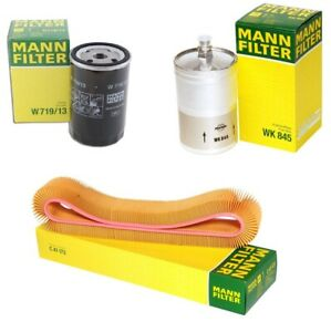 Mann Oil Air Fuel Filter Service Kit for Mercedes W124 W126 260E 300E 300SEL