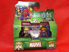 Marvel Minimates 47 Longshot & Dazzler 2 Pack by Diamond Select New