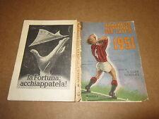 PANINI ALMANACCO ILLUSTRATO DEL CALCIO ANNO 1951