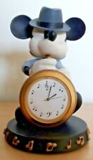 More details for disney store mickey mouse saxophone jazz clock figurine