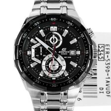 Imported Casio Edifice Men's Wristwatch EFR 539D 1AV BLACK DIAL MENS CHRONOGRAPH