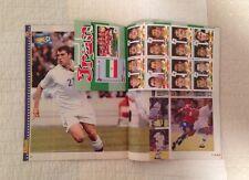 Panini 19984 98 France WC World Cup GUERIN SPORTIVO Magazine Iran Sticker Sheet