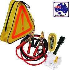Roadside Car Tool Emergency Kit Jumper Start Leads Cables Towing Torch VTRES2981