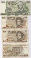Austria 20 & 100 Schilling Bank Notes | Pennies2Pounds