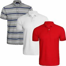 Unbranded Collared Striped Short Sleeve Men's Casual Shirts & Tops