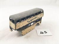 VINTAGE DINKY TOYS # 29C DOUBLE DECKER BUS BODY DIECAST PLAYWORN SPARE PART