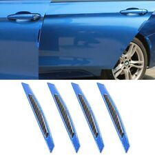 4X Universal Blue Reflective Stickers Car Side Door Edge Anti-Scratch Protection