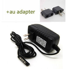 AU AC Wall Travel Home Charger Adapter For Microsoft Surface Windows RT Tablet