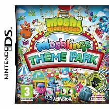 Nintendo DS Moshi Monsters Moshlings Theme Park Game. Postage