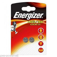4 x Energizer Alkanie LR43 / 186 / V12GA Batterie 2 x 2er Blister