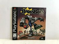 Boombots PS1 Manual ONLY Insert Authentic