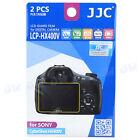 JJC 2PCS LCD Guard Film Camera Screen Protector for Sony Cybershot HX400V HX300