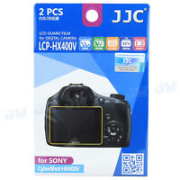 JJC 2PCS LCD Guard Film Camera Screen Protector for Sony Cybershot HX400V HX300