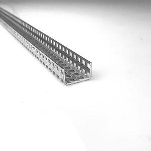 Winkel Lochblech QG5-8 Aluminium 1,5mm dick Alu Blech U-Profil Kiesfang
