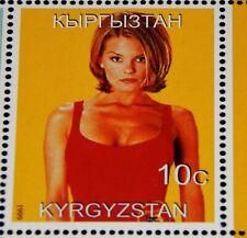 Vintage Stamp, 1999 KYRGYZSTAN SOUVENIR STAMP SHEET MNH, Baywatch Stars,TV Show