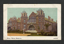 Posted 1919 from Rochester view of the Royal Naval Hospital: Chatham Dockyard