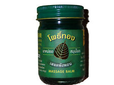 50g Original Thai Massage Herbal Green Balm Aroma, Arthritis & Back Pain Relief