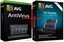 AVG AntiVirus + PC TuneUp 2018 Version for 2 PCs & for 1 year - SPECIAL PRICE