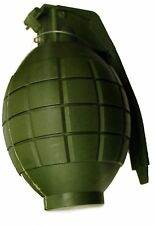 Kids Army Toy GREEN Hand Grenade - With Lights & sound - Role Play (HL374)green