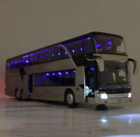 Stadt Reisebus Spielzeug Modell Fahrzeug Ride A Kutsche Maßstab Kinder NEU