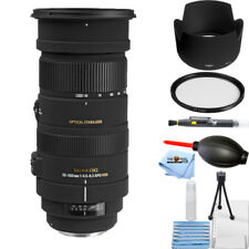 Sigma 50-500mm f/4.5-6.3 APO DG OS HSM Lens for Canon EOS STARTER BUNDLE NEW