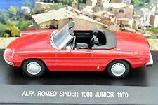 MODELLINO AUTO ALFA ROMEO SPIDER SCALA 1/43 DIECAST COLLEZIONE COCHE MODELLISMO