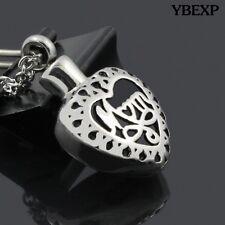 """Cylinder """"MOM"""" Cremation Jewelry Keepsake Memorial Urn Necklace Ash Holder"""