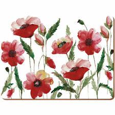 Creative Tops Watercolour Poppy Standard Size Premium Mats - Set of 6