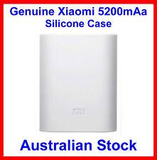 Genuine Soft Silicone Case White for Xiaomi 5200mAh Power Bank