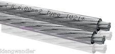 OEHLBACH Silverline 60 / 6mm² / Versilbertes Lautsprecher-Kabel / 1021 / Neu