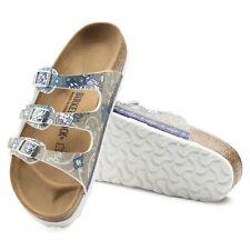 Birkenstock Florida Sandalen schmal oder normal ancient mosaic taupe Pantoletten