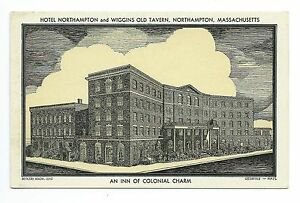 Hotel Northampton Wiggins Old Tavern, The Factory Hollow (guild) Greenfield, MA