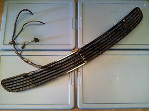 MERCEDES-BENZ W220 S430 S500 HOOD VENT GRILL BLACK  00 01 02 03 04 05 06