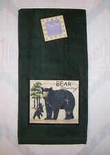 Bear Terry Towel Kay Dee Wilderness Trail Bear Patch Kitchen Towel