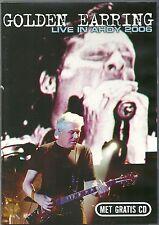 DVD + CD (NOUVEAU!) Golden Earring-Live in Ahoy 2006 (Radar Love Twilight zone mkmbh