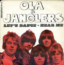 7inch OLA & THE JANGLERS let's dance SPAIN VG++