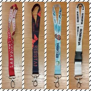 VARIOUS LANYARDS FOR THE IBIZAN SUPER CLUBS - IBIZA CLUB POSTERS - DJ MUSIC