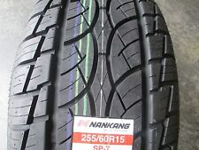 2 New 255/60R15 Nankang SP-7 Tires 2556015 255 60 15 R15 60R