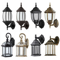 Antique Outdoor Wall Light Lamp Lantern Sconce Exterior Porch Lighting Fixture