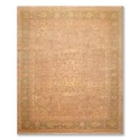 """8'10"""" x 9'10"""" Hand Knotted Authentic Turkish Oushak 100% Wool Area Rug Beige"""