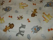 3G Lambs & Ivy Noah's Ark Two by Two Animals Safari Fitted Crib Sheet (Fabric)