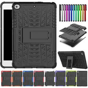 """For iPad Mini 7.9"""" Air 9.7"""" 2017 2018 Pro Air 10.5"""" 11"""" Hard Rubber Case Cover"""