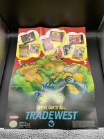 Battletoads Poster Exclusive Rare Promotional Insert Promo Super Nintendo SNES