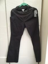 New Motherhood Maternity Smart Grey Wool Trousers Work L 14 16 Mothercare h&m