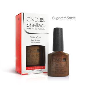 CND Shellac UV Gel Nail Polish - Sugared Spice 0.25oz
