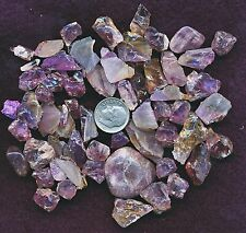 50 CT. NATURAL ROUGH AMETHYST WHSL PARCELS RANDOM SELECTED