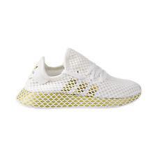 Adidas deerupt Runner Calçados Sapatos Femininos Branco/Dourado Metálico/Branco CG6087