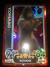Force Attax EXTRA Star Wars Holo-Karte Nr. 101 Chewbacca SammelkarteTrading Card