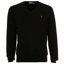 Ralph Lauren Lambswool V Neck Jumpers & Cardigans for Men