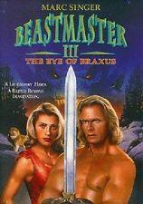 Beastmaster 3 III: The Eye of Braxus DVD (1996) Marc Singer